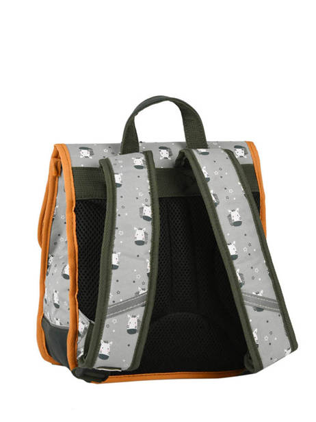Backpack Cameleon Gray retro PBRESD30 other view 3