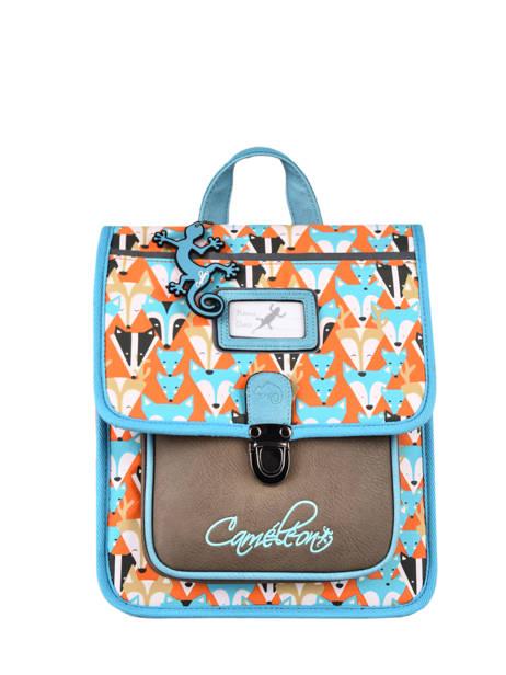 Backpack 1 Compartment Cameleon Multicolor retro SD30