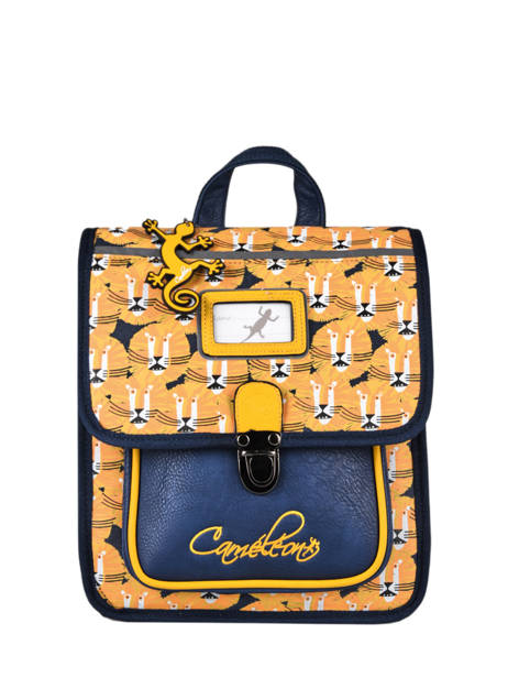 Backpack 1 Compartment Cameleon Yellow retro SD30