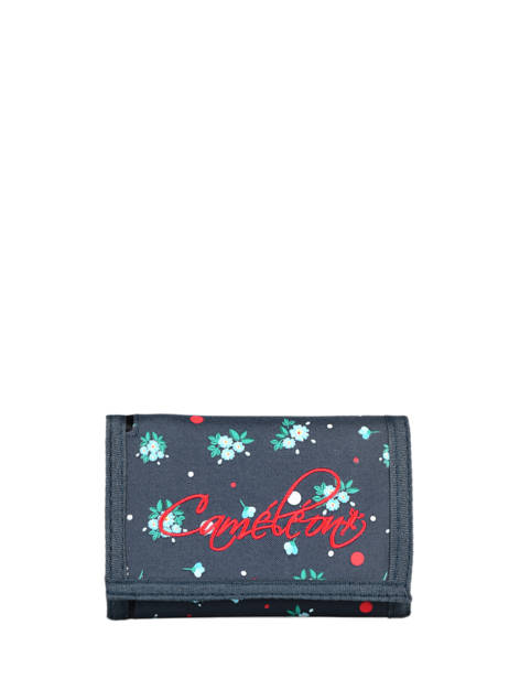 Compact Kids Wallet Basic Cameleon Blue actual WALL