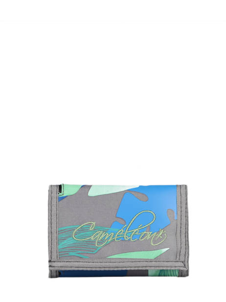 Compact Kids Wallet Basic Cameleon Gray actual WALL