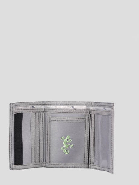 Compact Kids Wallet Basic Cameleon Gray actual WALL other view 1