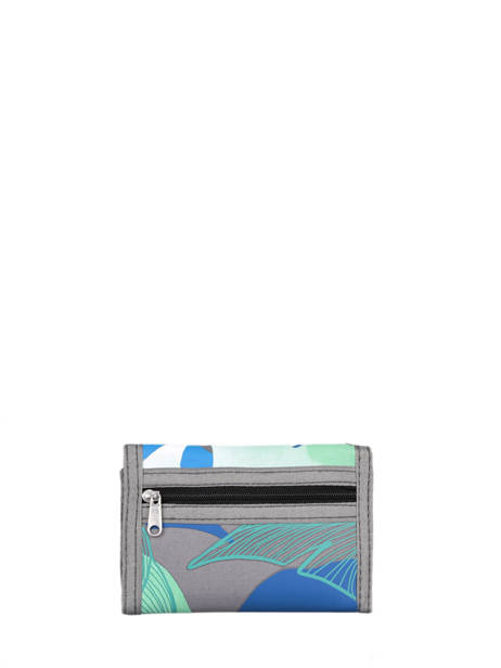 Compact Kids Wallet Basic Cameleon Gray actual WALL other view 2