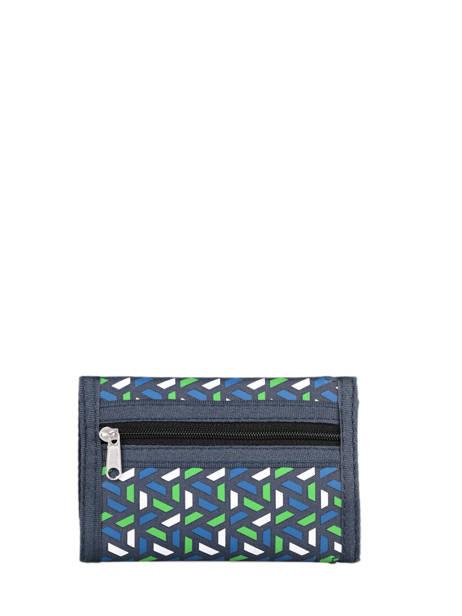 Portemonnee Basic Velcro Cameleon Blauw actual WALL ander zicht 2