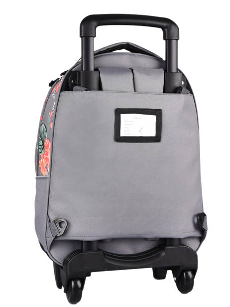 Wheeled Backpack For Kids 2 Compartments Cameleon Gray actual SR43 other view 7