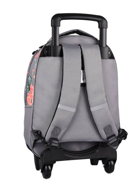Wheeled Backpack For Kids 2 Compartments Cameleon Gray actual SR43 other view 6
