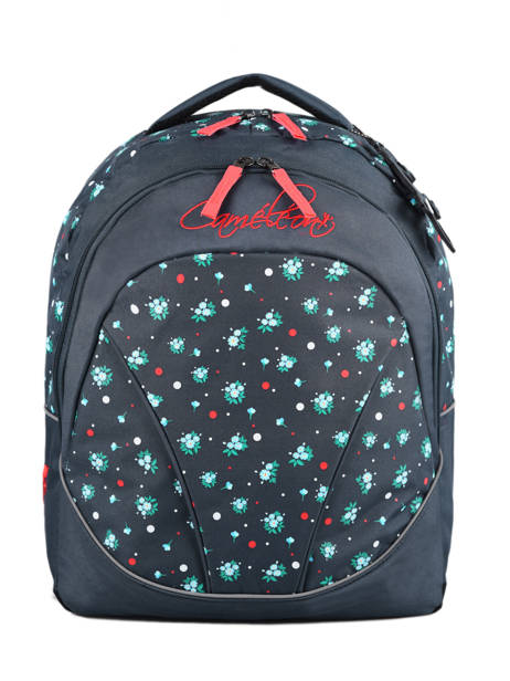 Backpack For Kids 2 Compartments Cameleon Blue actual SD43