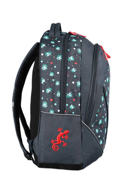 Backpack For Kids 2 Compartments Cameleon Blue actual SD43 other view 4