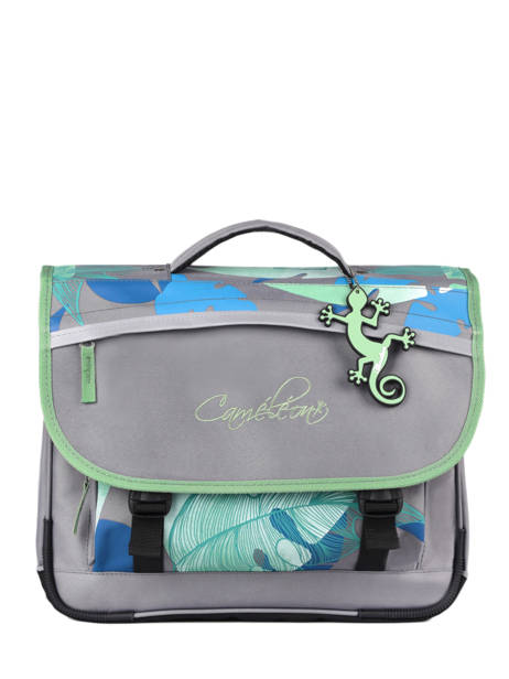 Satchel For Kids 2 Compartments Cameleon Gray actual CA38