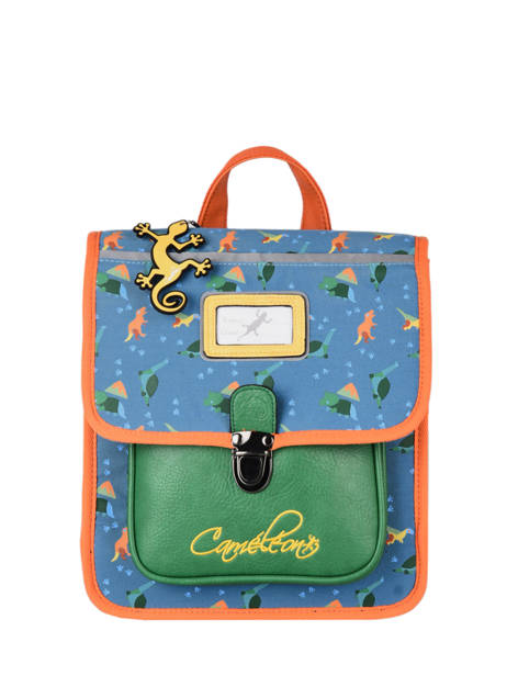 Backpack 1 Compartment Cameleon Blue retro SD30