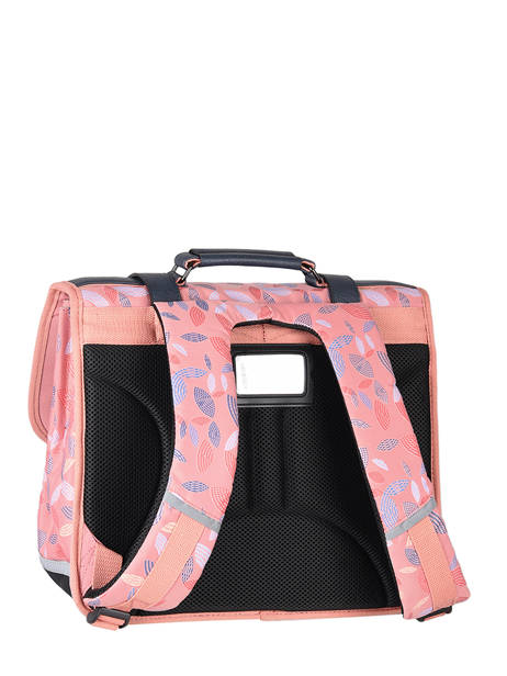 Satchel For Girls 2 Compartments Cameleon Pink vintage fantasy CA35 other view 7