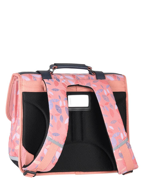 Satchel For Girl 2 Compartments Cameleon Pink vintage fantasy CA38 other view 7