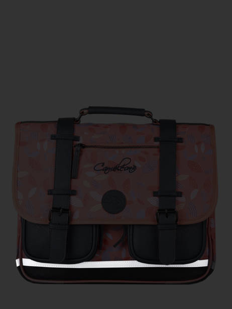 Satchel For Girls 2 Compartments Cameleon Pink vintage fantasy CA35 other view 8