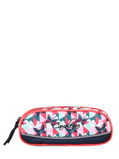 Pencil Case For Girls 2 Compartments Cameleon Multicolor vintage fantasy TROU