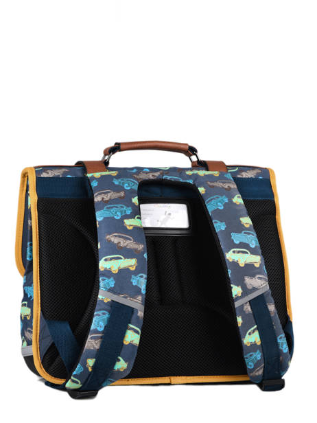 Satchel For Boys 2 Compartments Cameleon Multicolor vintage urban CA38 other view 7