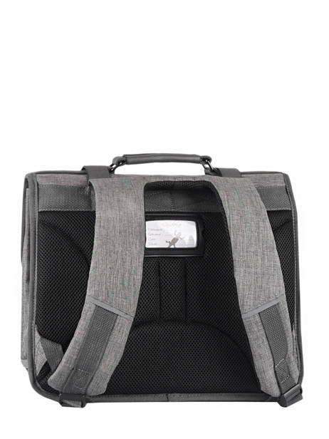 Satchel 2 Compartments Cameleon Gray vintage color CA38 other view 7