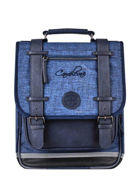 Sac à Dos 2 Compartiments Cameleon Bleu vintage color VIC-SD38