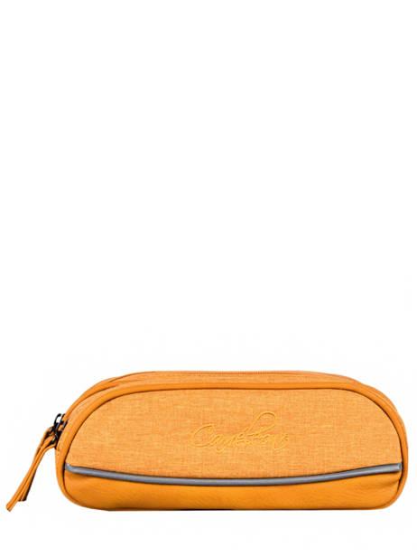 Kit 2 Compartments Cameleon Yellow vintage color VIN-TROU