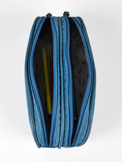 Kit 2 Compartments Cameleon Blue vintage color VIN-TROU other view 1