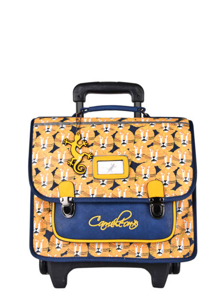 Wheeled Backpack Rétro Cameleon Yellow retro CR35