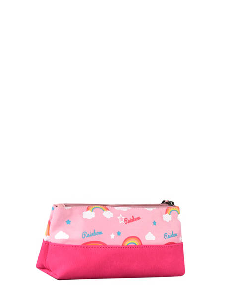 Pencil Case For Kids 1 Compartment Cameleon Pink retro TROU other view 2