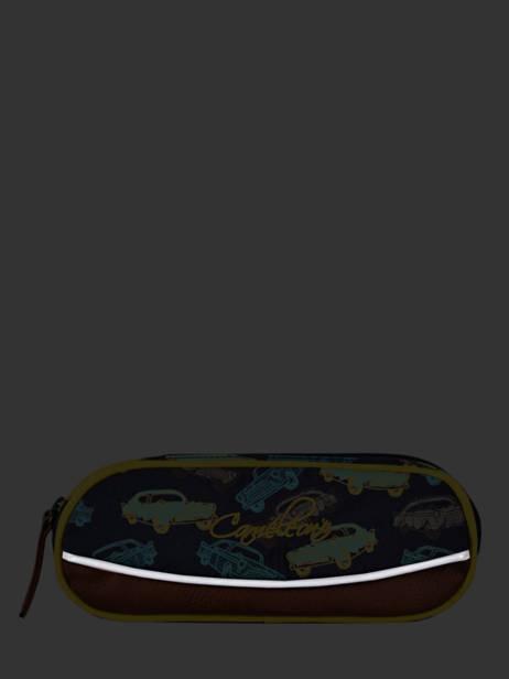 Pennenzak Jongen 2 Compartimenten Cameleon Veelkleurig vintage urban VIB-TROU ander zicht 3